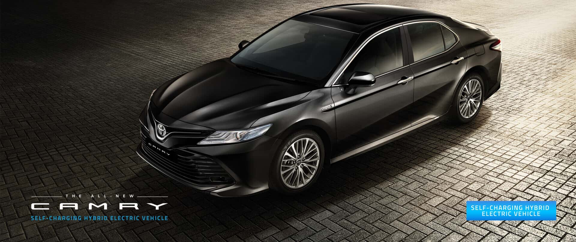 The All New Camry Self-Charging Hybrid Electric Vehicle