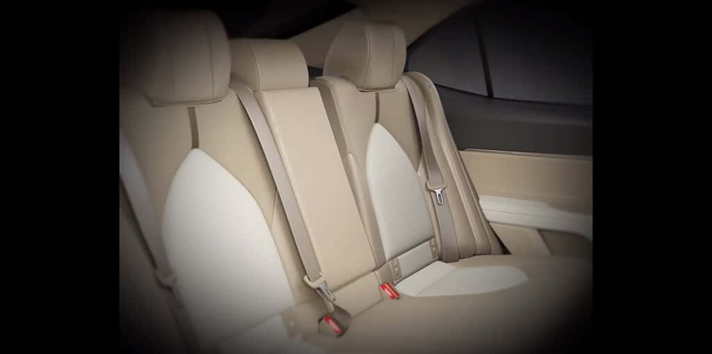 Adjustable Rear Seat