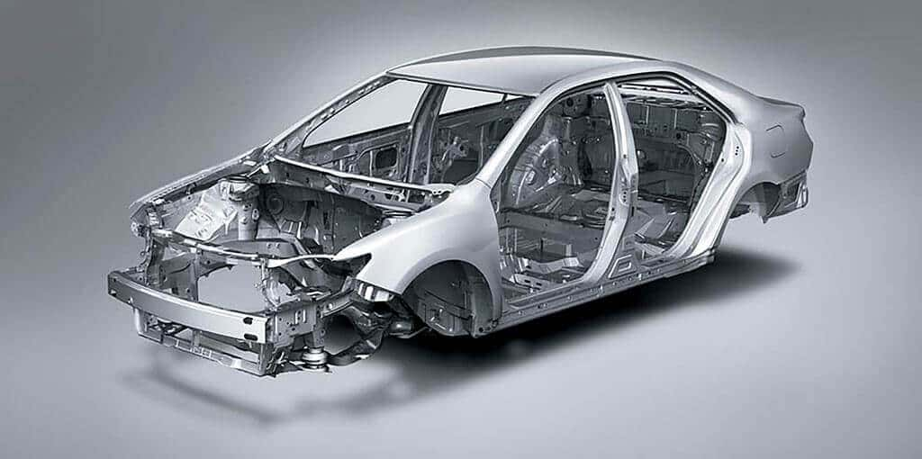 Toyota Camry With Impact Absorbing Body