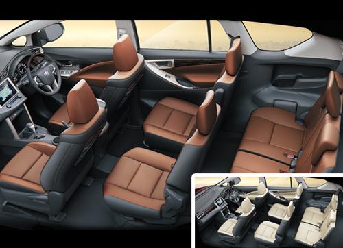 Jual Tank Cover Icon Innova Harga Spesifikasi Bandingkan Harga di Source · Premium Leather Seats