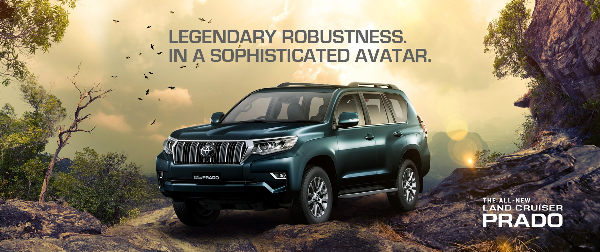Toyota India | Official Toyota Land Cruiser Prado site