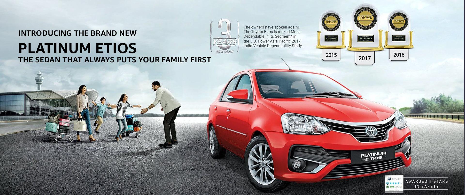 Toyota India | Official Toyota Platinum Etios site, Platinum Etios