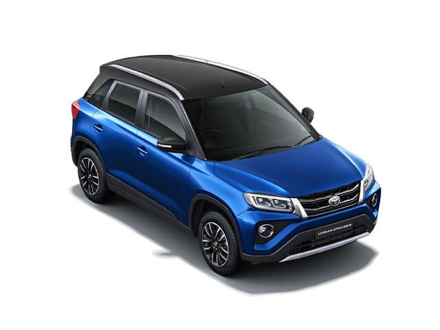 D21 blue 2- Toyota Urban Cruiser