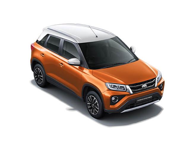 D21 orange white 2- Toyota Urban Cruiser