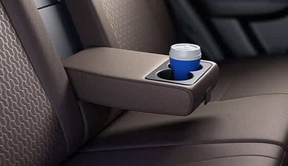 Rear Centre Armrest with Cup Holder