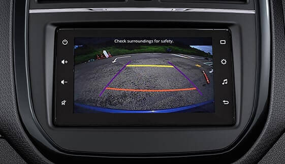 Reverse Parking Camera with Display in Audio