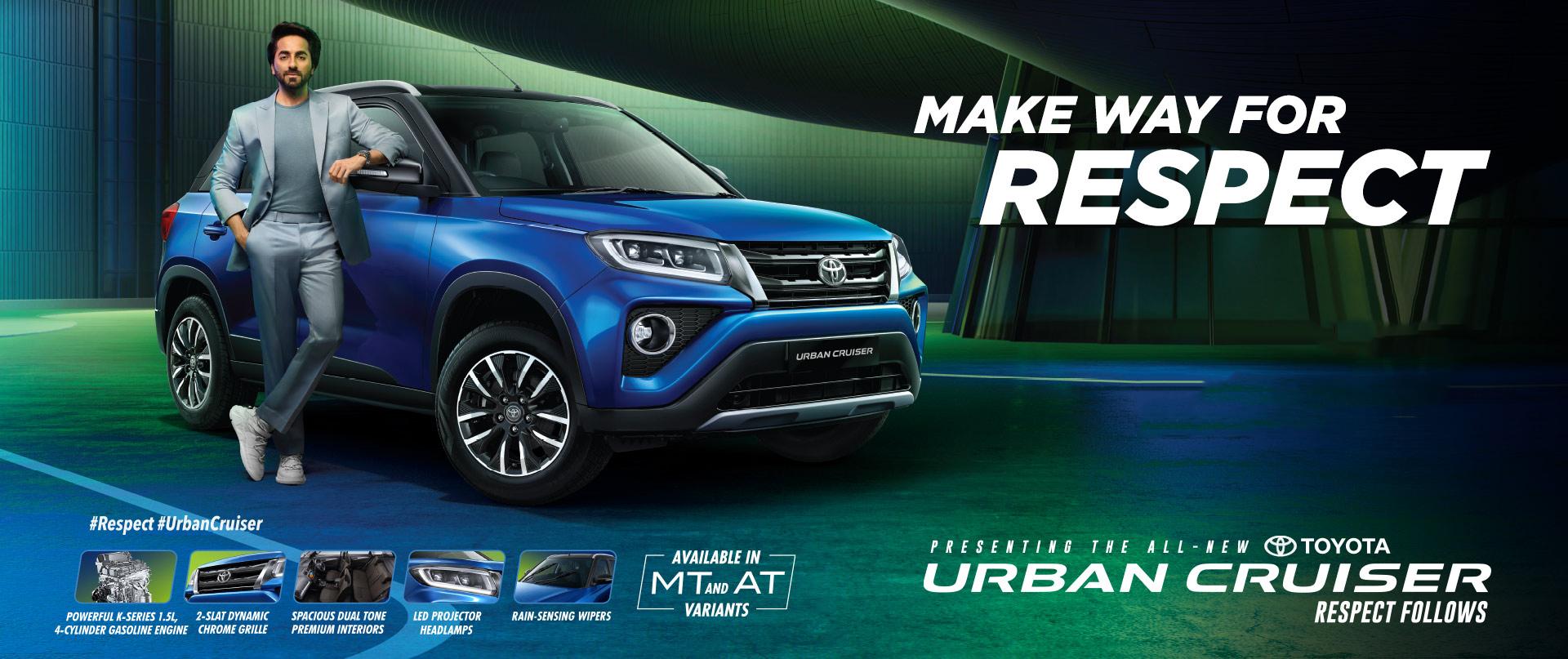 Toyota Urban Cruiser - Bookings open