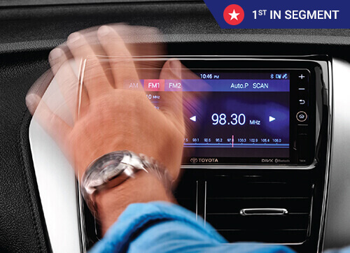 INFOTAINMENT WITH GESTURE CONTROL AND NAVIGATION