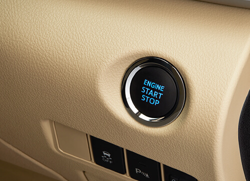 PUSH START STOP BUTTON