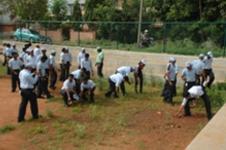 TKM volunteers in action