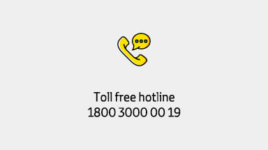 Toll free hotline